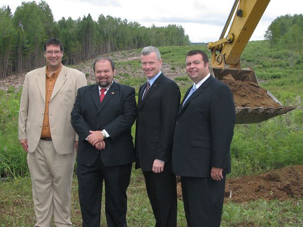 N.B. Bypass Construction Begins