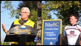 B.C. Premier Announces $31-Million Cycling Investment