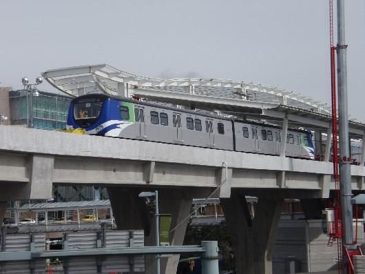 First Passengers Mark Canada Line Milestone