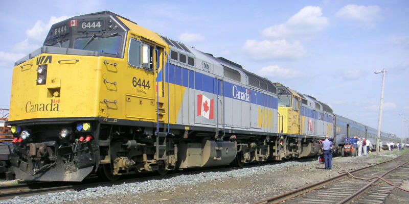 VIA pitches high-frequency rail project