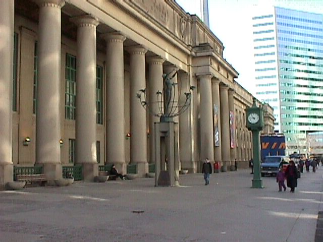 Toronto's Union Station under Construction…Maybe